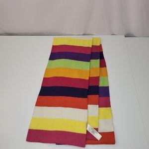 ST John's Bay Striped Colorful Scarf